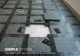 raised flooring system commercial raised access floor construction