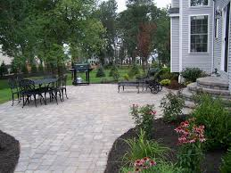 Paver Patio Nj I This Paver The Multi Sizes Make A Beautiful Design