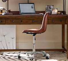 Leather Office Desk Chair Impressive 50 Pottery Barn Office Chair Decorating Inspiration Of
