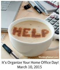 6 organize your home office day tips