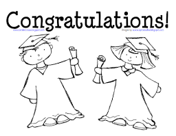 kindergarten graduation preparation coloring freebie