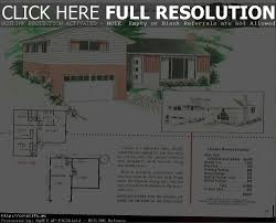 ranch house plans 1950s 1960s home contemporary simple 1950 s for