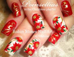 robin moses nail art christmas bows nail art xmas presents on