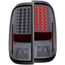 2016 f350 tail lights 2008 2016 f250 f350 anzo led tail lights smoked 311169