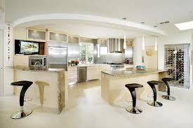 kitchen ultra modern kitchen design with unique black stools
