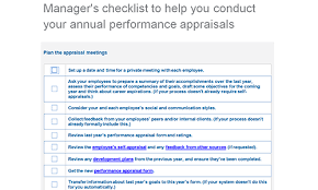 employee performance appraisal checklists download toolkit
