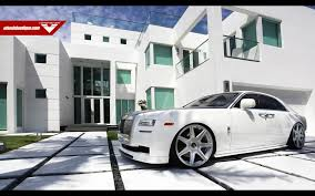 rolls royce white inside 2014 vorsteiner rolls royce ghost supercar car tunning white