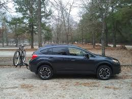 subaru camping trailer bikes subaru bike rack hitch crosstrek central crosstrek hitch