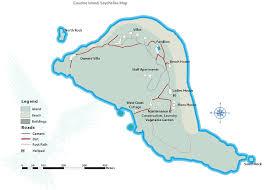Seychelles Map Location Cousine Island Seychelles