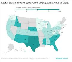 At T Coverage Map Alaska by Here U0027s What Health Insurance Coverage Looks Like Now Nbc News