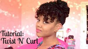 Wash And Go Styles For Transitioning Hair - 5 easy hairstyles every transitioner should know