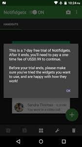 add custom widgets lock screen on android lollipop