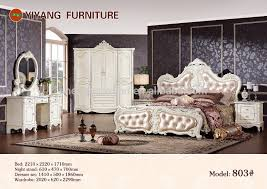 White Distressed Bedroom Set by Antique Reproduction Furniture Antique Reproduction Furniture