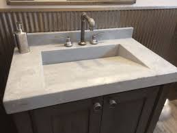 stainless steel countertop with built in sink integrated kitchen sink dark brown wooden kitchen counter and
