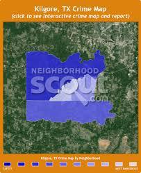 kilgore map kilgore crime rates and statistics neighborhoodscout