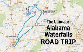 Map Of Florida And Alabama by The Ultimate Alabama Waterfalls Road Trip Is Right Here And You