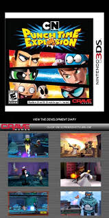network punch time explosion the sequel network punch time explosion nintendo 3ds