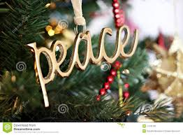 peace ornament stock image image of golden symbol 17242185