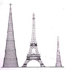 radio tower comparison of shabolovka radio tower and eiffel tower shabolovka as