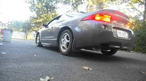 eclipse mitsubishi 1998 1998 mitsubishi eclipse custom exhaust sound youtube