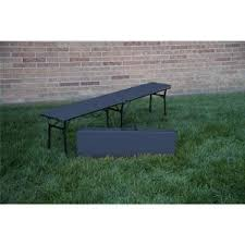 Bench Made From Tailgate Cosco Black Portable 2 Pack Folding Tailgate Bench 14416blk2e