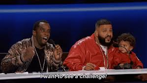 Challenge Gif The Four Challenge Gif By Diddy Find On Giphy