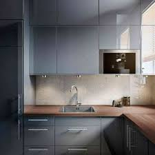 ikea high gloss kitchen cabinets ikea ringhult abstrakt gloss grey kitchen drawer faces 18 3 pack