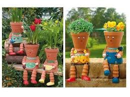 garden decor and in the garden gardens pottery pots and child