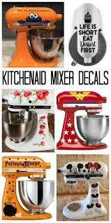 kitchen aid kitchenaid mixer decals decorate your stand mixer the country