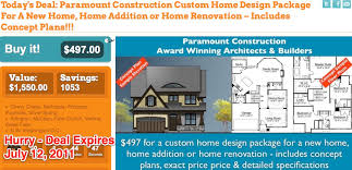 custom home plans and pricing maryland architect