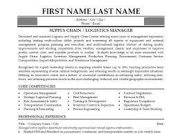 Logistics Resume Summary Download Logistics Manager Resume Haadyaooverbayresort Com