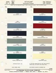 1966 pontiac gto candlelight cream code y car paint color kit