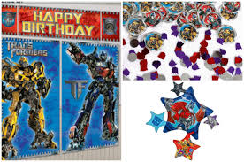transformers birthday decorations energy and science themed boys transformer birthday party