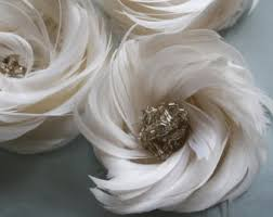 feather flower feather flower etsy