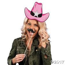 cowboy hat halloween western photo stick props