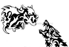 white and black wolf design by sohla wolf design on deviantart