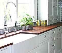 white cabinets with butcher block countertops dark butcher block countertops awesome comfortable design interior