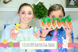 3 cute diy easter egg ideas brooklyn and bailey youtube