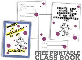 rhyming dr seuss class book free printable