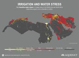 Middle East Countries Map by Beyond Conflict Water Stress Contributed To Europe U0027s Migration