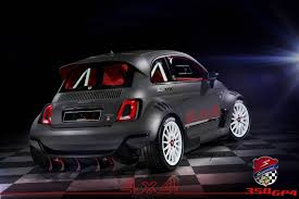 fiat 500 this all wheel drive 350hp fiat 500 is a demogorgon on four wheels