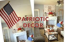 patriotic home decorations stylist design ideas patriotic home decor 4th of july decorations