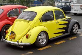 old volkswagen yellow classic vw beetle custom tuning pictures during super volkswagen