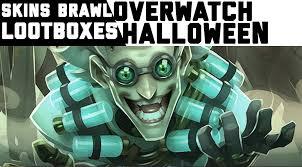 overwatch skins halloween overwatch halloween skins brawls and lootboxes queuetimes