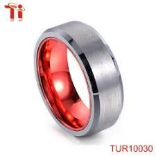 cincin tungsten carbide dongguan aohua perhiasan tur10251 biru plating tungsten pernikahan