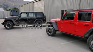 jeep wrangler top view uncovered 2018 wrangler jlu rubicons hit the streets page 3