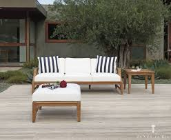 Patio Chairs With Ottoman Exterior Design Fill Your Patio With Janus Et Cie Outdoor