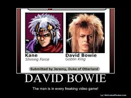 David Bowie Labyrinth Meme - david bowie is in every video game forevergeek
