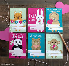 kids valentines day cards printable kids s day cards lia griffith