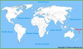 Map Of Pacific Vanuatu Maps Maps Of Vanuatu
